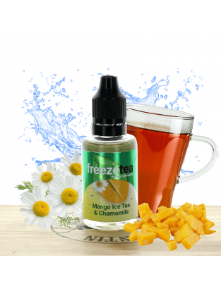 Concentré Mango Ice Tea et Chamomille 30ml - Freeze Tea