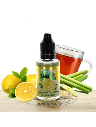 Concentré Black Ice Tea Lemon et Lemongrass 30ml - Freeze Tea