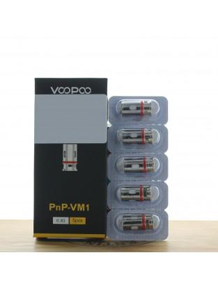Résistance PnP Mesh VM1 0.3ohm (Pack de 5) - Voopoo