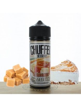 Chuffed Dessert Caramel Cheesecake 100ml Chuffed