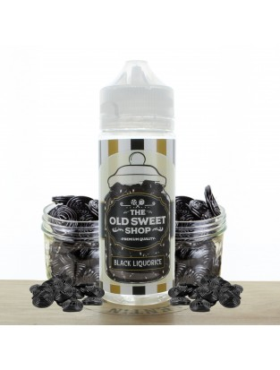 Black Liqourice 100ml The Old Sweet Shop