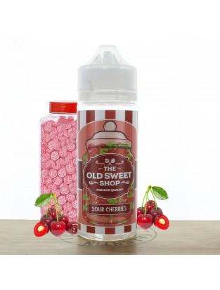 Sour Cherries 100ml The Old Sweet Shop